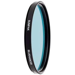 Sunpak 58mm Intensifier Blue Filter CF7528CIB