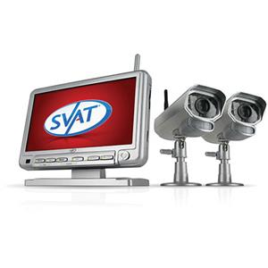 SVAT Electronics GX301-011 Digital Wireless DVR Security System GX301-011