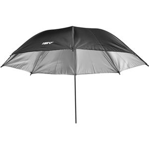 Smith Victor 32in Black Backed, Silver Umbrella: Picture 1 regular