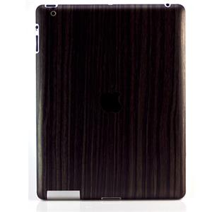 SlickWraps Wood Series Full Body Wrap for iPad 3 & 4, Gold Flaked Ebony: Picture 1 regular