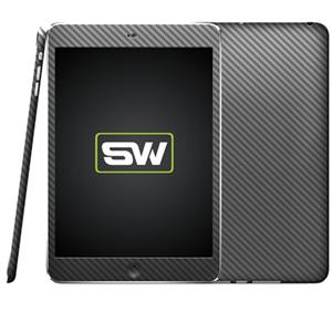 SlickWraps Carbon Fiber Wrap for iPad Mini, Gun Metal: Picture 1 regular