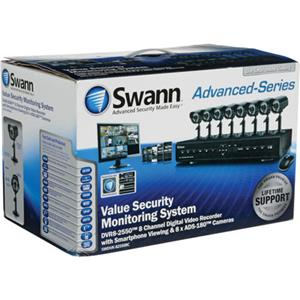 Swann DVR8-2550 8 Channel Digital Video Recorder SWDVK-825508C