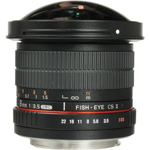Samyang 8mm f/3.5 HD Fisheye Lens SYHD8M-C