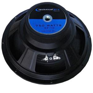 "Technical Pro WF10 10"" Raw Subwoofer WF10"