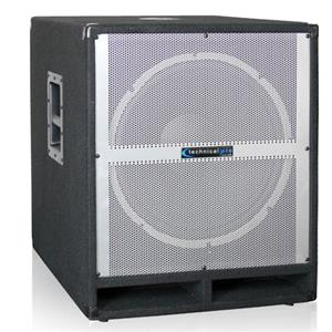 "Technical Pro XTREME1501 Carpeted 15"" Powered Subwoofer XTREME1501"