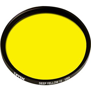 Tiffen 40.5mm 15 Filter, Dark Yellow: Picture 1 regular