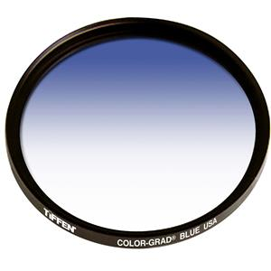 Tiffen 52mm Color Graduated Filter, Blue: Picture 1 regular