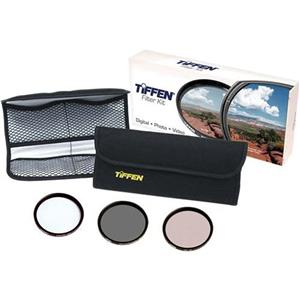 Tiffen 77mm Video Essential DV Filter Kit 77DVVEK