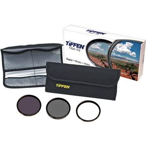 Tiffen 72mm Digital Essentials Filter Kit 72DIGEK3