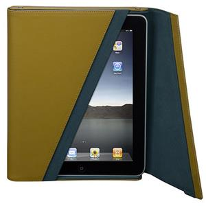 Targus Leather Z-Case for iPad - Mustard/Teal interior: Picture 1 regular