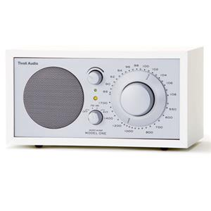 Tivoli Audio Model One M1WHT AM/FM Table Radio