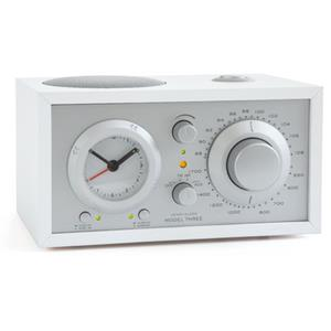Tivoli Audio Model Three M3WHT AM/FM Clock Radio