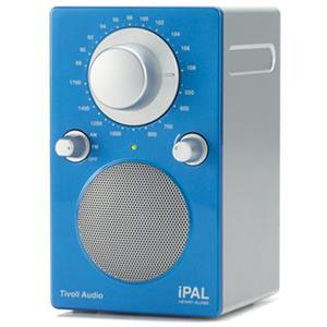 Tivoli Audio iPAL PALIPALGB Portable Radio, High Gloss Blue/Silver: Picture 1 regular