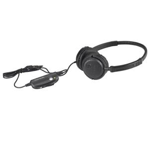 Tivoli Audio Radio Silenz RSBLK Active Noise Cancelling Headphones, Black: Picture 1 regular