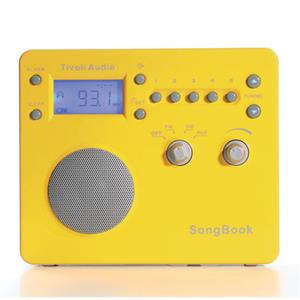 Tivoli Audio SongBook SBYS AM/FM Alarm Clock Travel Radio