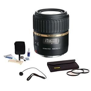 Tamron SP 60mm f/2 Di II 1:1 Macro AF Built-in Motor Lens Kit AFG005NII700 K