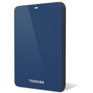 Toshiba Canvio 1TB USB 3.0 Hard Drive, Blue: Picture 1 regular