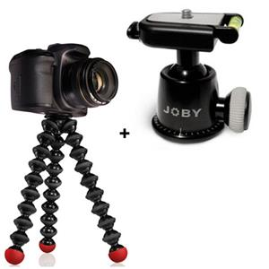 Joby Ball Head + Gorillapod SLR-Zoom, Red: Picture 1 regular