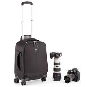 Think Tank Airport 4-Sight Four Wheel Roller, Black w/Devo Folding Travel Table: Picture 1 regular