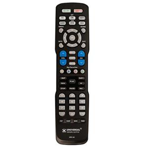 Universal Remote A6 Pre-Programmed and Learning Remote Control A6