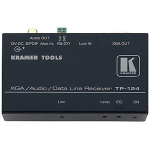 Kramer Electronics TP-124 Computer Graphics Video/Stereo and S/PDIF Audio RS-232 Over Twisted Pair Receiver TP-124
