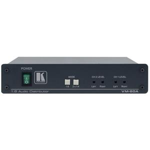 Kramer VM-80A 1:8 Balanced Stereo Audio Distribution Amplifier VM80A