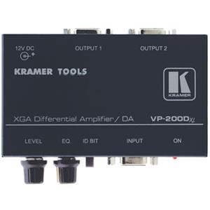 Kramer VP-200DXL 1:2 Computer Graphics Video Differential Line Amplifier VP200DXL