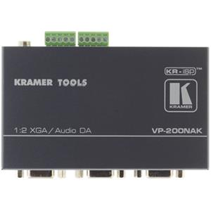 Kramer VP-200NAK 1:2 Computer Graphics Video & Stereo Audio Distribution Amplifier VP200NAK