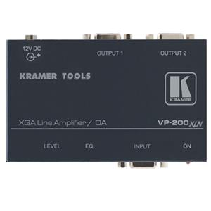 Kramer VP-200XLN 1:2 Computer Graphics Video Line & Distribution Amplifier VP200XLN