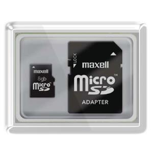 Maxell 8GB MicroSDHC Class 10 Flash Memory Card 502302