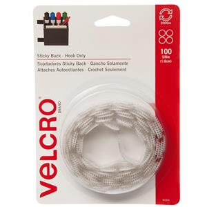 "Velcro 5/8"" White Sticky Back Fasteners 90204"