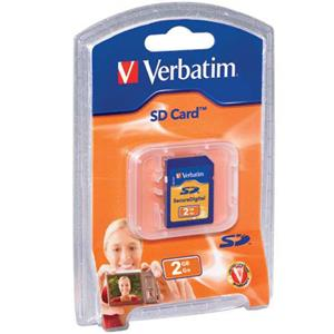Verbatim 95407 2GB SD (Secure Digital) Memory Card: Picture 1 regular
