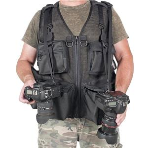 The Vest Guy Urban 5 Photo Vest, Medium, Coyote Mesh: Picture 1 regular
