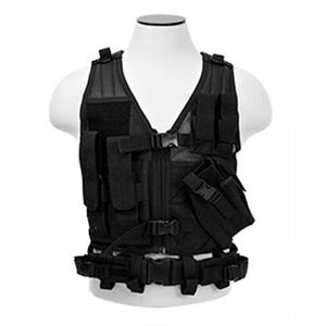 NcSTAR Vism Children's Tactical Vest, Black: Picture 1 regular