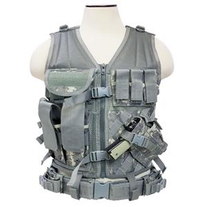 NcSTAR Vism Tactical Vest, Digital Camouflage: Picture 1 regular
