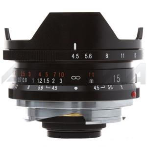 Voigtlander Super Wide Heliar 15mm f/4.5 M Lens,Black: Picture 1 regular