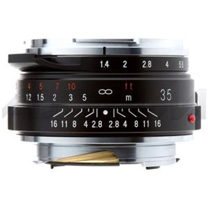 Voigtlander Nokton 35mm f/1.4 M Mount Lens, Black: Picture 1 regular