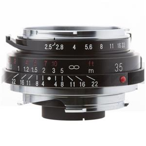Voigtlander Skopar Pan II 35mm f/2.5 M Mount Lens,Black: Picture 1 regular