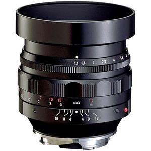 Voigtlander Nokton 50mm f/1.1 Leica M Mount Lens - Black #BA247A: Picture 1 regular