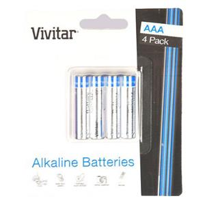 "Vivitar Super Ultra Max High Power ""AAA"" Alkaline Batteries VIV4AAAALK"
