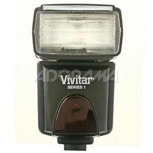 Vivitar DF383 Digital TTL Shoe Mount Power Zoom /Swivel /Bounce Auto-Focus Flash VIVDF383OLY