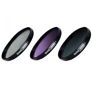 Vivitar 3-Piece 77mm Filter Kit