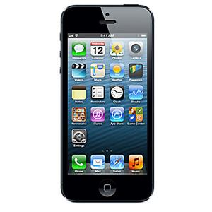 Apple iPhone 5 4G LTE Smartphone on iOS 6 with 16GB Hard Drive, Black: Picture 1 regular