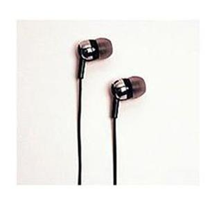 Wicked EH-260 Pulse In Ear Sleek Headphone - Black: Picture 1 regular