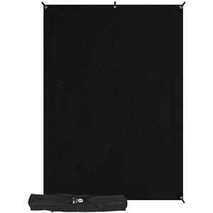 Westcott X-Drop Kit 5' x 7', Black: Picture 1 regular