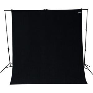 Westcott 9 x 10 feet Cotton Background, Rich Black: Picture 1 regular