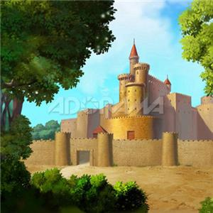 Westcott 5 x 6ft Castle, Muslin Background, 810: Picture 1 regular