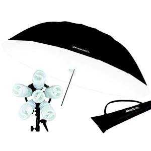 Westcott 1200-watt Daylight Spiderlite TD6 7' Parabolic Umbrella Kit: Picture 1 regular