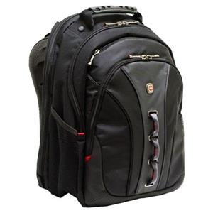 Wenger Legacy 15.6in Checkpoint Computer Backpack,Black: Picture 1 regular