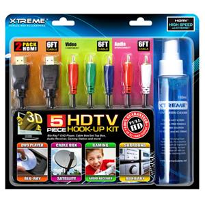 Xtreme Cables 5 Piece HDTV Hook-Up Kit: Picture 1 regular